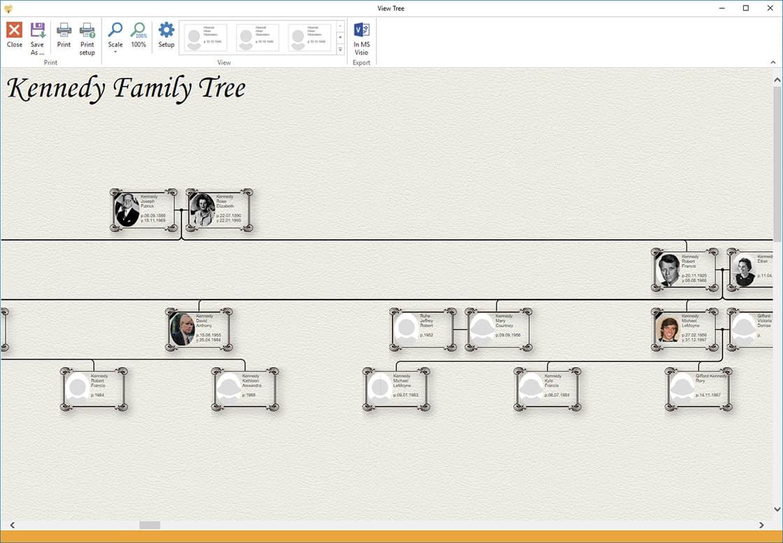 Family Tree Visio Template Goseqh